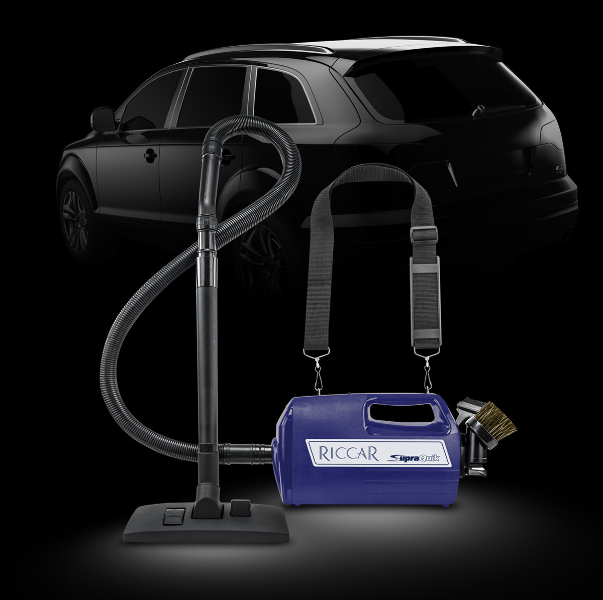 The Riccar SupraQuik is a handy vacuum for cleaning cars, minivans and anywhere else that's too difficult to clean with a full-size vacuum