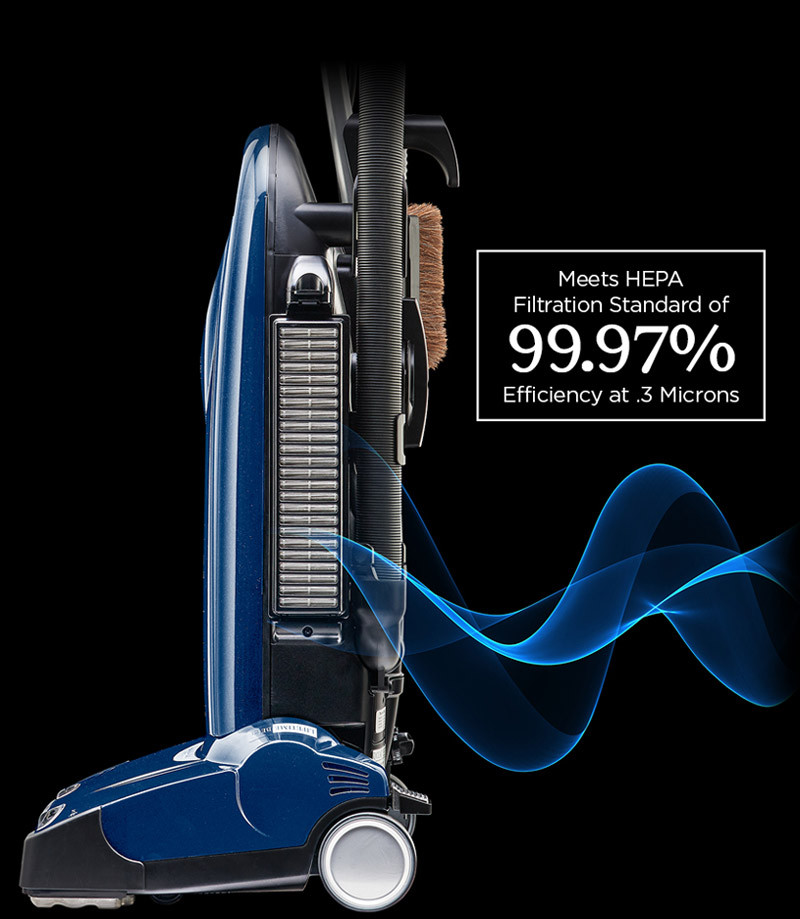 Riccar Healthy Home Vacuum Cleaner with HEPA media filtration